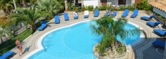 Pool-view apartments in a separate complex, only 250 metres from the sea