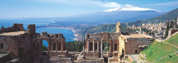 In Sizilien: Taormina und Messina